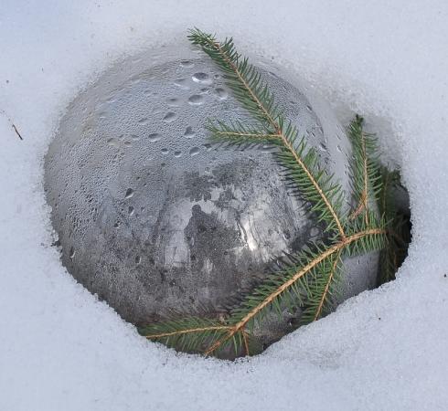 Plastkupa, vinterskydd